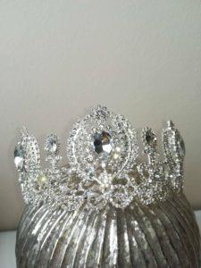 Нежна кристална тиара Queen Annabeth