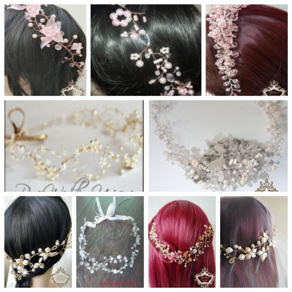 Диадеми за коса на мека основа - Absoluterose.com