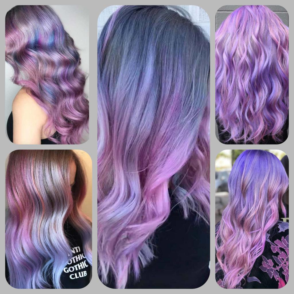 Лилава боя за коса от AbsoluteRose.com